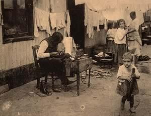 Жилище иммигрантов Conventillo 1908г
