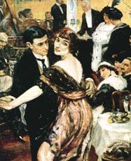 """Чаепитие под танго"", Париж, 1914г."