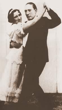 Легендарные танцоры Эль Качафаз и Карменсита Кальдерон 1935г.